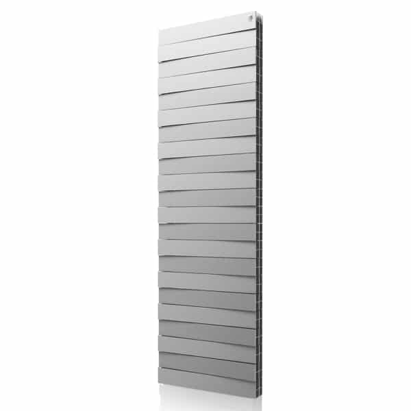 Дизайн радiатор Pianoforte TOWER, Silver – styleradiators.com.ua