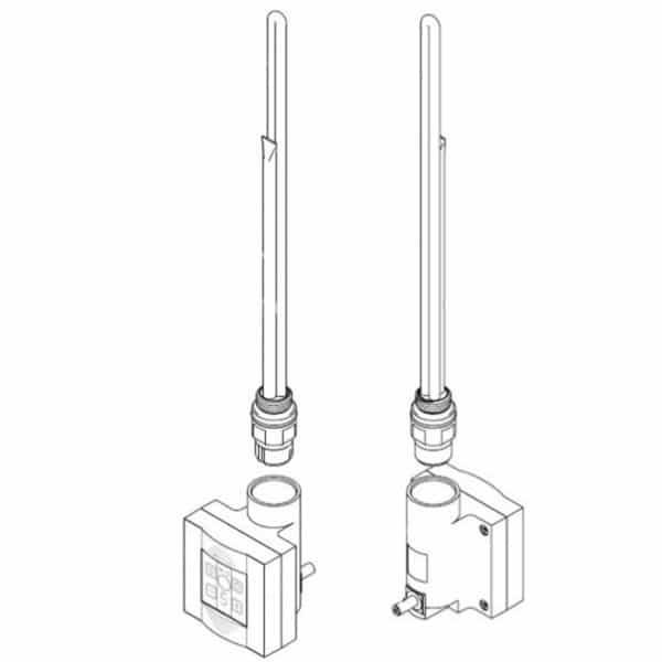 Нагрiвальний елемент TERMA-Split для KTX – styleradiators.com.ua